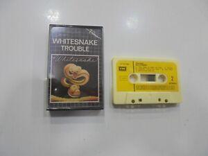Whitesnake Kassette Spanisch Trouble 1986