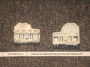 2 VW Passat Window Regulator Repair Clips 1997- - FRONT RIGHT passenger