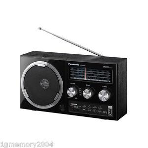 panasonic rf 800u retro portable stereo radio usb mp3 new ebay. Black Bedroom Furniture Sets. Home Design Ideas