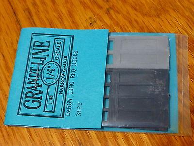 Grandt Line O #3822 Long RPO Doors Set -- DRGW