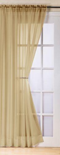 Plaine voile rideau panneau ~ ~ beaucoup de couleurs slot top voiles libre 1er classe post