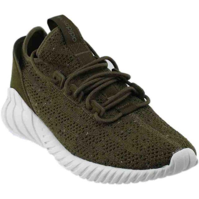 adidas Tubular Doom Sock Pk Sneakers- Green- Mens MRSP $130