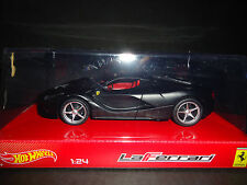 Hot Wheels Ferrari LaFerrari 2013 Matt Black 1/24 ws2