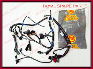 Brilliant Royal Enfield Gt Continental Main Cable Wiring Harness Ebay Wiring 101 Tzicihahutechinfo