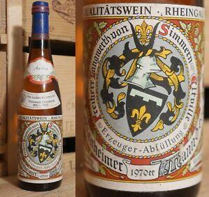 1970er Hattenheimer Mannberg-riesling Sélection-le Baron Langwerth De Simmern-afficher Le Titre D'origine Nombreux Dans La VariéTé