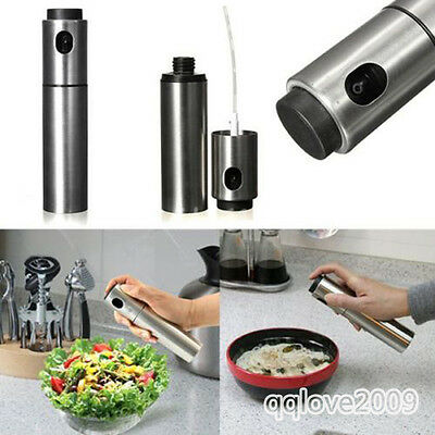 Mister Pump Spraying Bottle oil vinegar Pot Stainless Steel Tool for kitchen