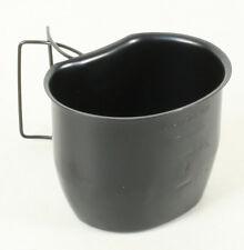 Genuine BCB Stainless Steel BLACK British Army 58 pattern Crusader Mug / Cup NEW