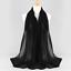 Plain-Color-Shiny-Shimmer-Glitter-Sparkly-Scarf-Hijab-Shawl-Wrap-Wedding thumbnail 2