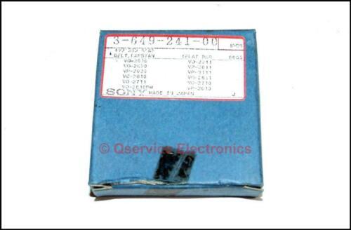 Sony 3-649-241-00 authentique en caoutchouc Cabestan Ceinture VO-2710 UMATIC enregistreurs new old stock Boxed