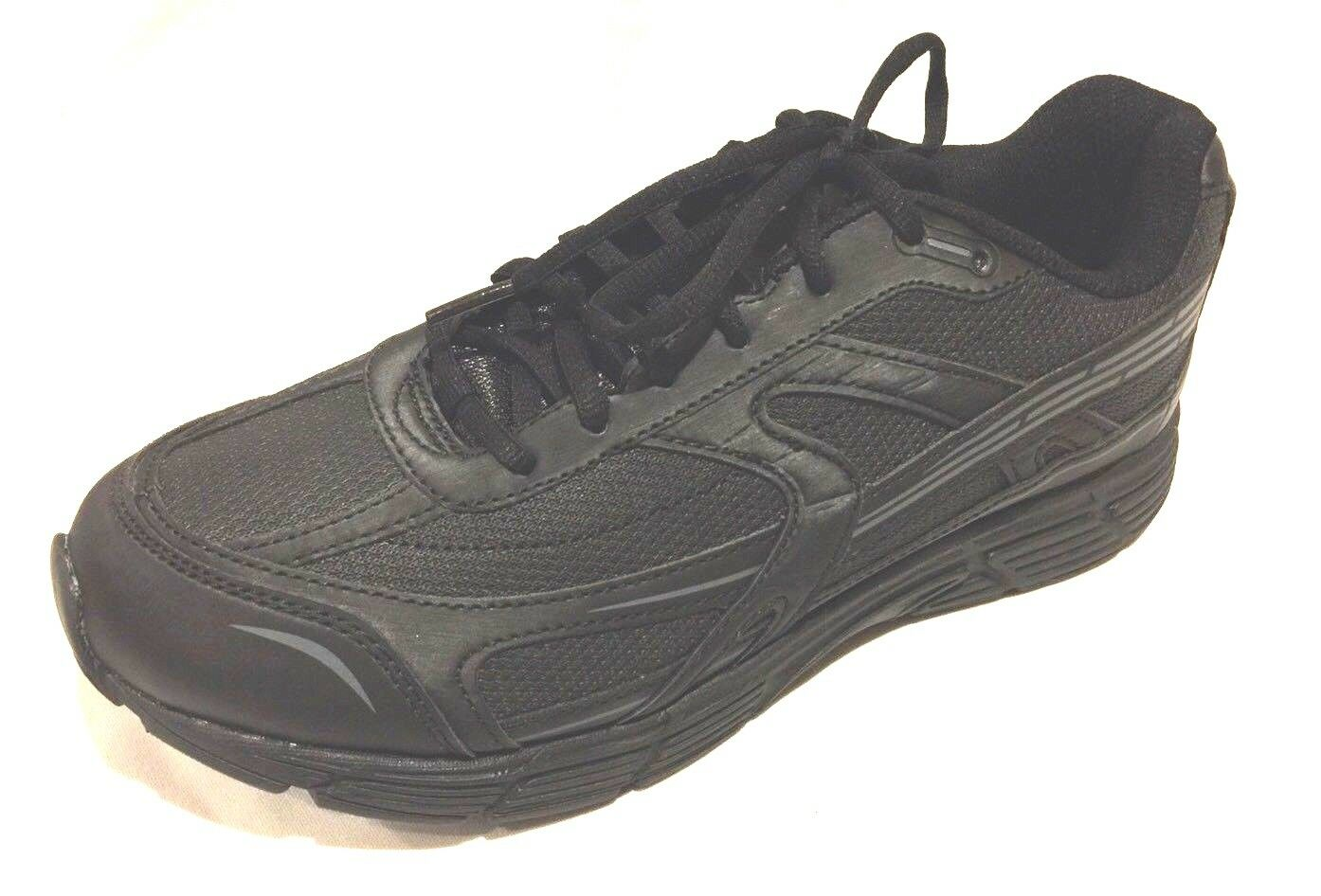 newest 444cf 0a9a2 Mens Walmart Sz 8 1 2 Wide Athletic Shoes Shoes Shoes Black Light Weight NWT