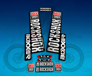 PEGATINAS STICKERS HORQUILLA ROCK SHOX REVELATION 2018 ELX73 FORK AUFKLEBER