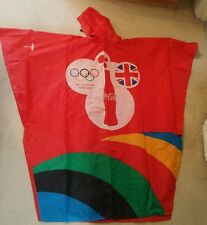 Coca Cola London Olympics 2012 ponchos limited edition