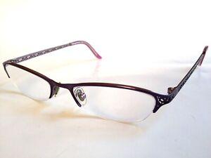 95a08451e89 Details about Tommy Bahama TB152 Prescription Eyeglasses Violet Fields  51-17-130
