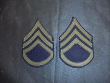 Genuine WW2 US Army Staff Sergeant SGT Uniform Stripes Chevrons Badge Patch