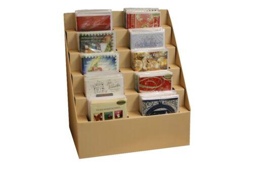 500 Weihnachtskarten Geschenkanhänger mit//ohne Display Weihnachten Grußkarten