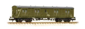 Graham-Farish-374-633-SR-50-Bogie-B-Luggage-Van-BR-Departmental-N-Gauge
