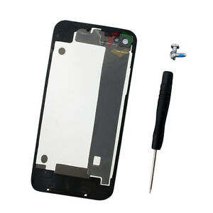 1f6a7a59e5256a Image is loading Black-Battery-Door-Back-Cover-Housing-Rear-For-