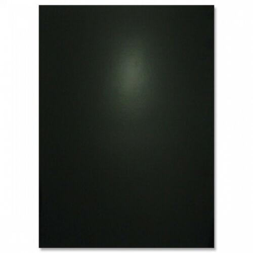 MIDNIGHT BLACK Hunkydory x8 A4 Sheets Mirri Card