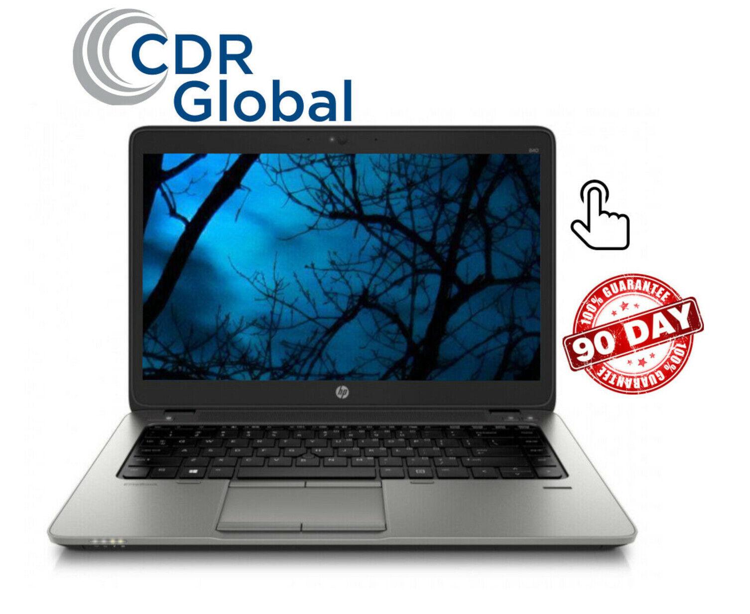 "HP EliteBook 840 G1 Intel Core i5 8GB RAM 256GB SSD 14"" TOUCHSCREEN Laptop"