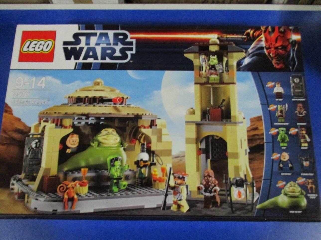 LEGO estrella guerras  9516 Jabba'S PALACE NUOVO OVP  negozi al dettaglio