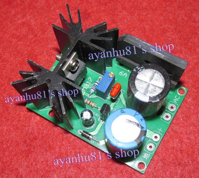 Tube Amp Filament LM317 Adjustable Regulator Soft Start Negative Grid Bias Power