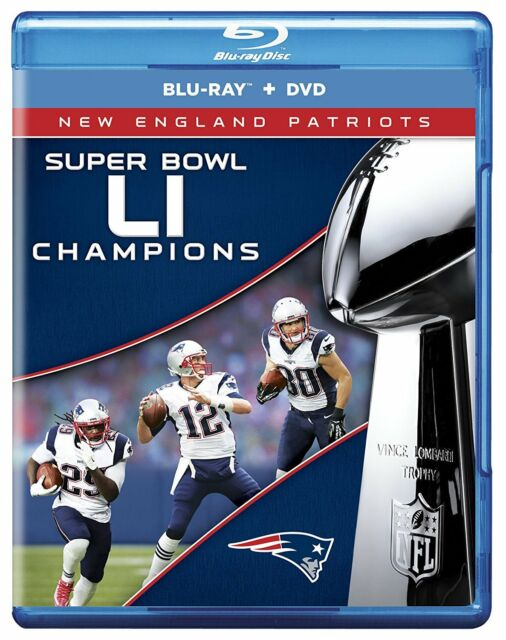 NFL SUPER BOWL 51 CAMPEÓN - LI - BLU-RAY - Region free - Sellado