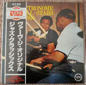 ELLA-FITZGERALD-COUNT-BASIE-Metronome-All-Stars-LP-Album-FACTORY-SEALED-Japanese