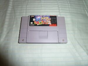Tetris-amp-Dr-Mario-Super-Nintendo-SNES-AUTHENTIC-Cleaned-amp-Tested
