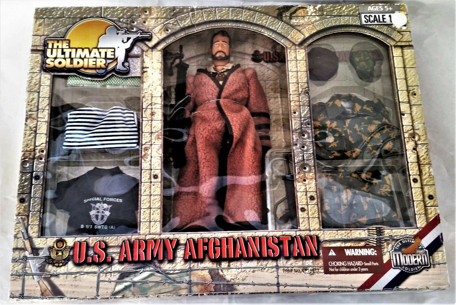 Ultimative soldat 1   6 u.s. army special forces afghanistan actionfigur, selten nib