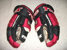 "TPS R8 PROFESSIONAL HOCKEY GLOVES 14"" NHL QUALITY, PRO STOCK,NICE CONDITION"