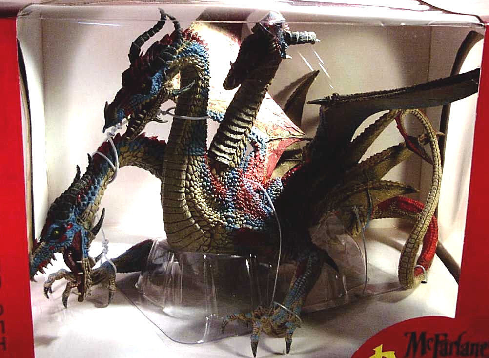McFarlane Dragons Series 7 Hydra Clan 12 Inch Box Set New 2007 Toys