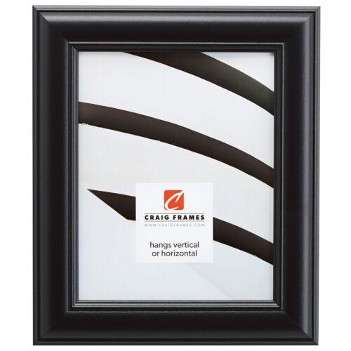 "1.75/"" Satin Black Picture Frame Craig Frames Dakota"