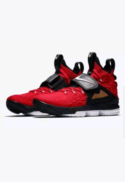 premium selection d9f5e 1a5a4 Nike Lebron 15 Red Diamond Turf Ao9144 600 Size 10.5 XV Prime DS RARE