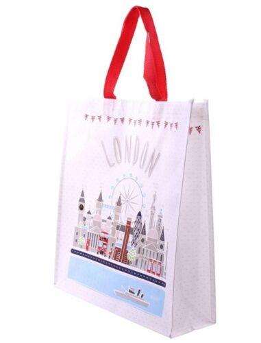 Einkaufstasche London Sehenswürdigkeiten Einkaufsbeutel Shopping bag Shopper