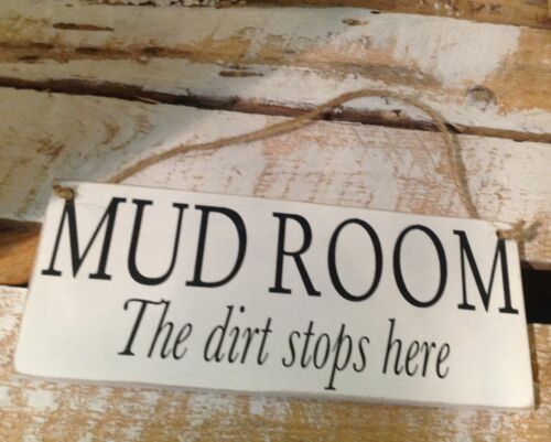 20 X 8 Wellie Room sign 002 Hand Made MUD ROOM plaque Boot Room