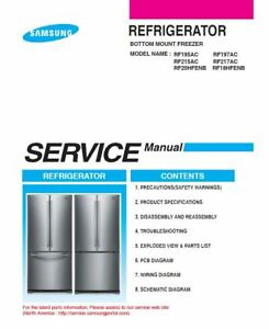 image is loading samsung-rf18hfenbsr-rf18hfenbww-rf18hfenbbc-service-manual -repair-guide