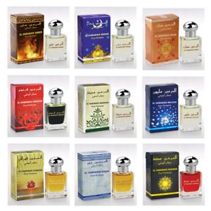 Al-Haramain-Concentrated-Perfume-Body-Oil-15ml-Box-Choose-From-Menu-USA-Seller