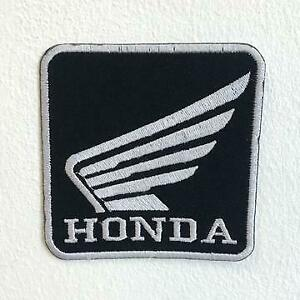 Honda Motorsports Racing Biker Iron Sew on Embroidered Patch
