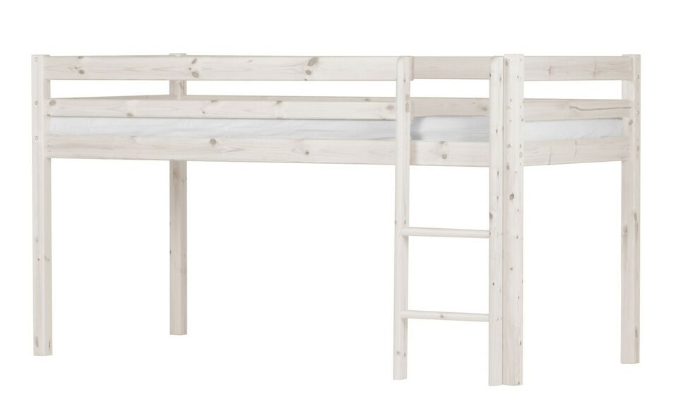 Andet, b: 208 cm, Flexa Basic Hit halvhøj seng 90x200 cm