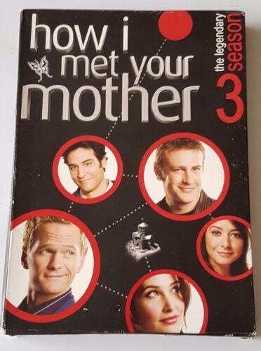 1 of 1 - How I Met Your Mother : Season 3 DVD, 2009, 3-Disc Set (#DVD01524)