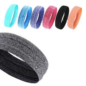 Frauen//Männer Schweiß Schweißband Stirnband Yoga Gym Stretch Kopfband Für  Neu