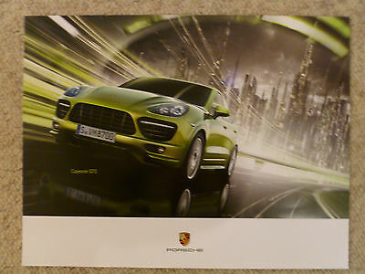 2003 Porsche Cayenne S Showroom Advertising Sales Poster RARE! Awesome L@@K