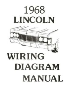s l300 lincoln 1968 continental wiring diagram manual 68 ebay