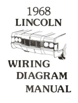 LINCOLN 1968 Continental Wiring Diagram Manual 68   eBayeBay