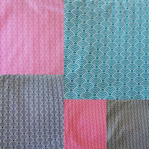 Tela de algodón METERWARE patchwork Design azul EUR 6,98//m