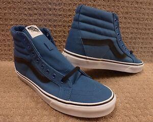 Sk8 Lona Azul Reissue negro hi Hombre Vans Zapatos Marino 7qaYOxgn