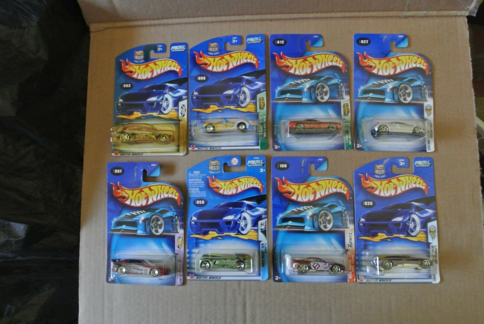 2003 Hot Wheel Cars Set of 8