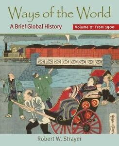 Ways of the world vol 2 a brief global history since 1500 by stock photo fandeluxe Choice Image