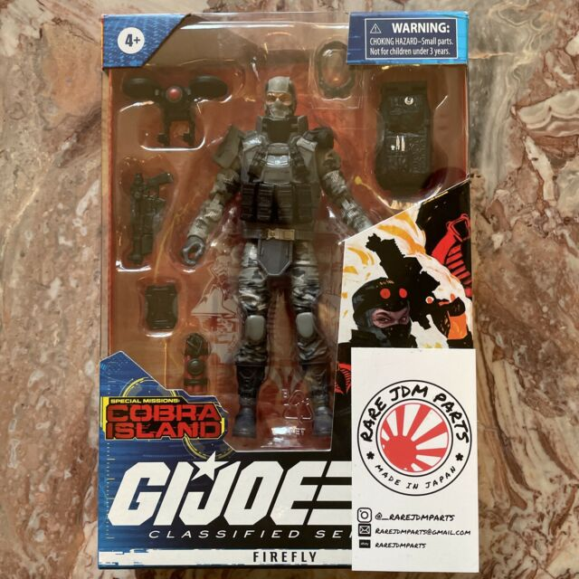 TARGET G.I. Joe Classified Series Special Missions Cobra Island Firefly IN HAND