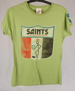 First-18-Official-AFL-St-Kilda-Saints-Ladies-Tee-Size-10